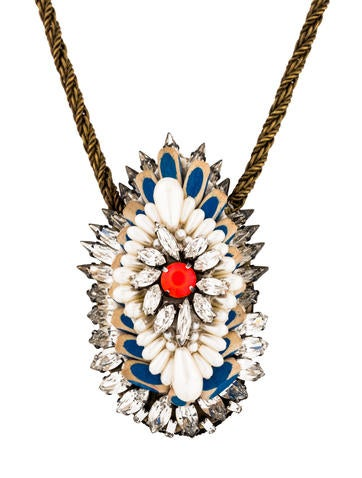 Shourouk Leitmotiv Hindi Statement Necklace None