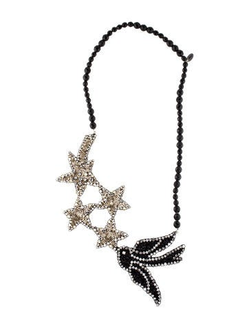 Shourouk Stardust Bird Necklace None