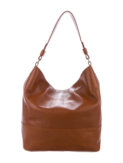 Shinola Leather Shoulder Bag Brown