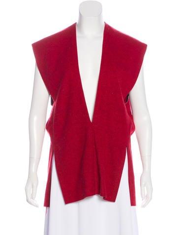 Sharon Wauchob Sleeveless Wool Knit Top None