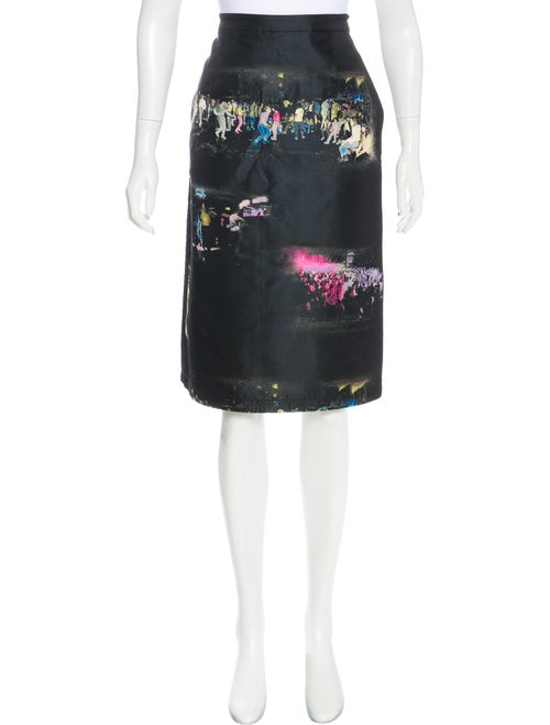 Sies Marjan Silk Jacquard Skirt w/ Tags Black