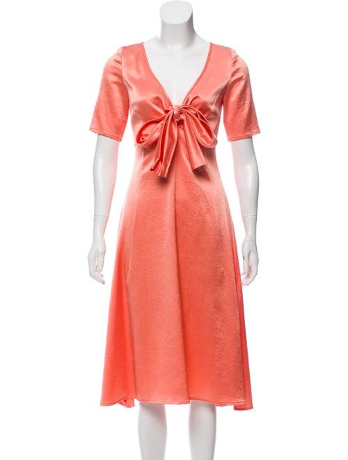 Sies Marjan Satin Midi Dress