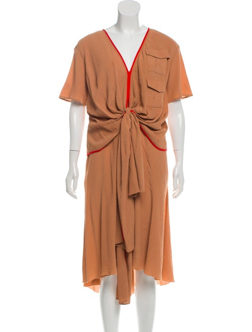 Sies Marjan Gathered Silk Dress