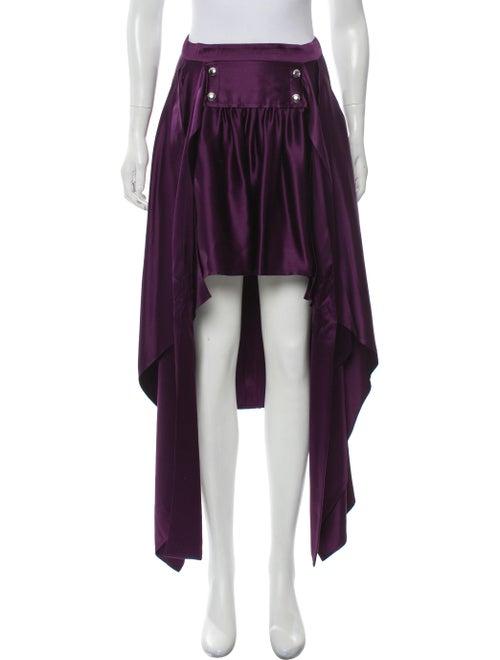 Sies Marjan Megan Silk Skirt w/ Tags Violet