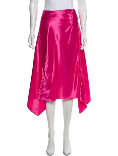 Sies Marjan Midi Flare Skirt Pink