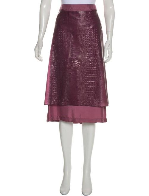 Sies Marjan Embossed Knee-Length Skirt w/ Tags