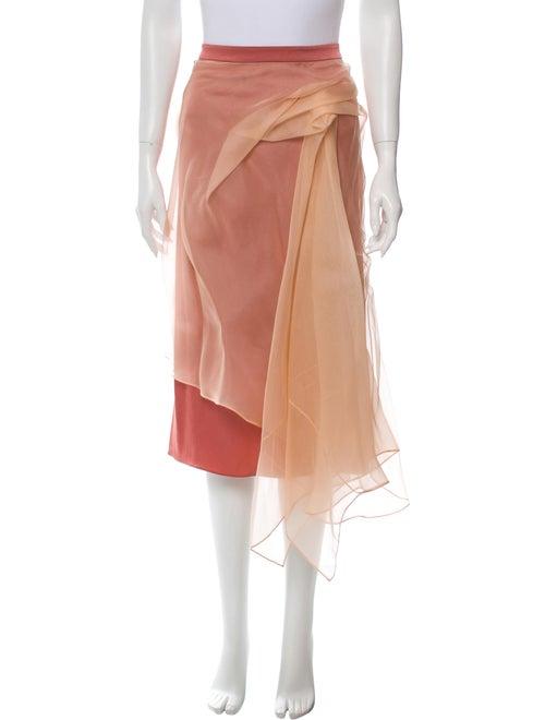 Sies Marjan Pleated Accents Midi Length Skirt
