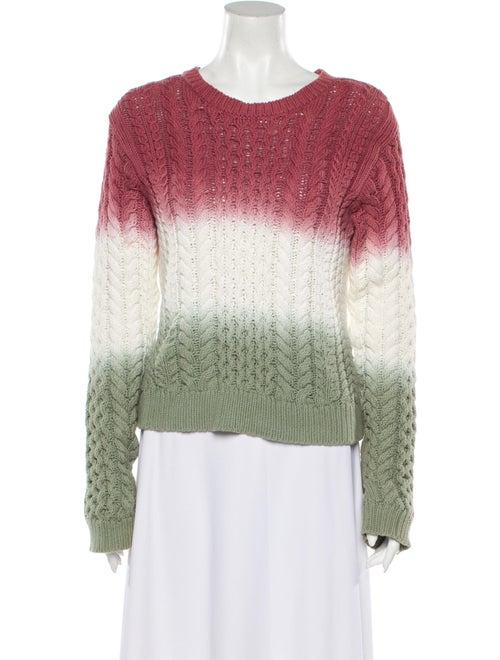 Sies Marjan Tie-Dye Print Scoop Neck Sweater