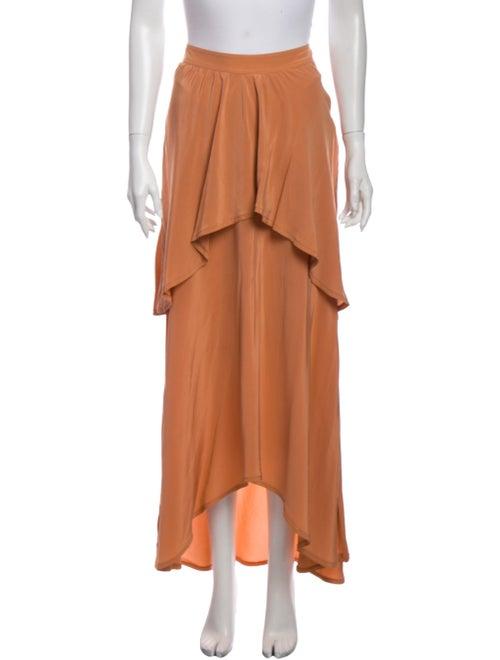 Sies Marjan Ruffle Embellishment Long Skirt