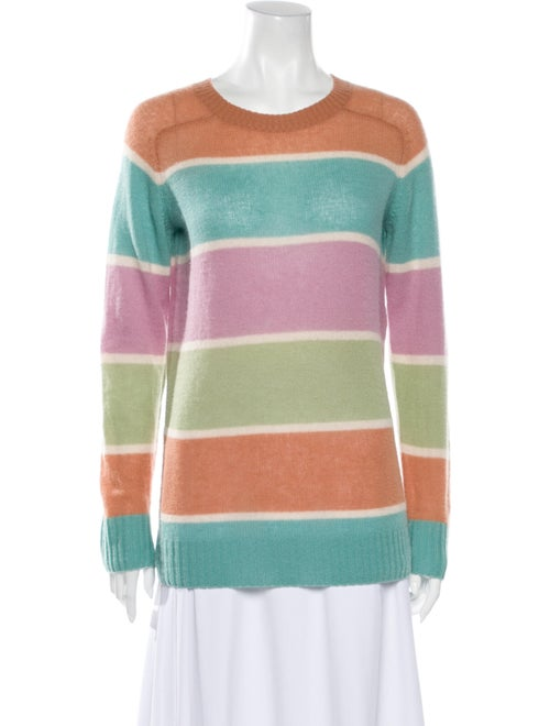 Sies Marjan Cashmere Striped Sweater Green
