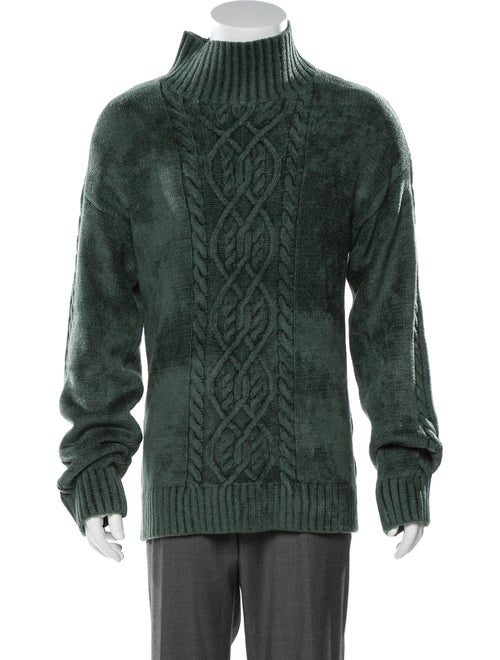 Sies Marjan Mock Neck Cable Knit Sweater
