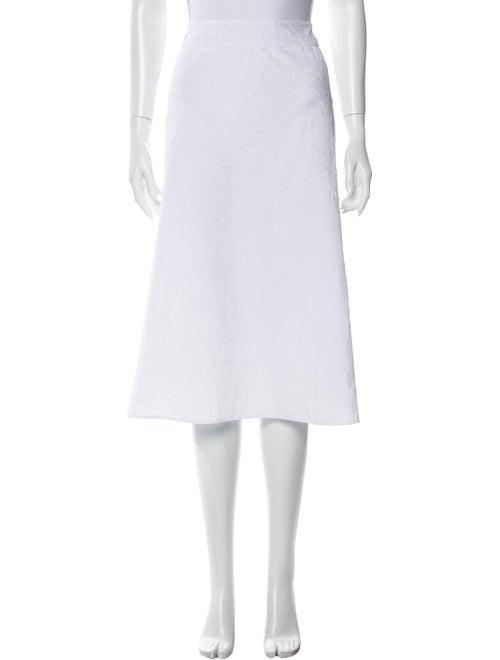 Sies Marjan Midi Length Skirt White