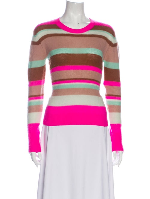 Sies Marjan Cashmere Striped Sweater Pink