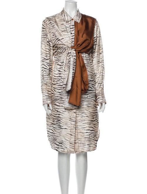 Sies Marjan Tie Waist Midi Length Dress
