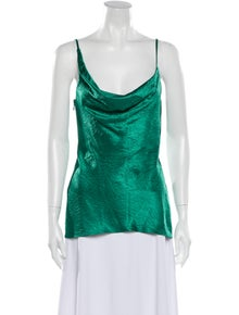 Sies Marjan Cowl Neck Sleeveless Blouse