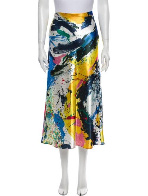 Sies Marjan Printed Midi Length Skirt w/ Tags