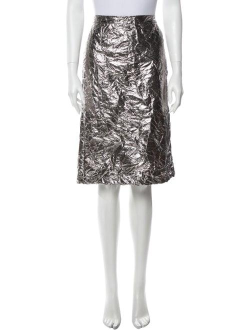 Sies Marjan Knee-Length Skirt Silver
