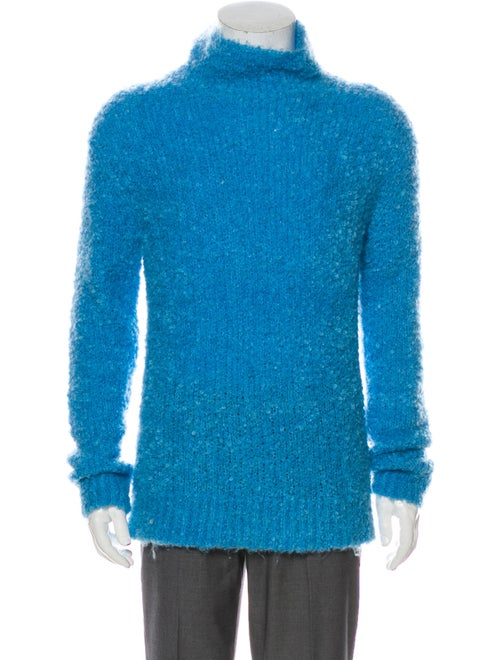 Sies Marjan Turtleneck Long Sleeve Pullover Blue
