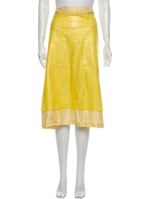 Sies Marjan Midi Length Skirt w/ Tags Yellow