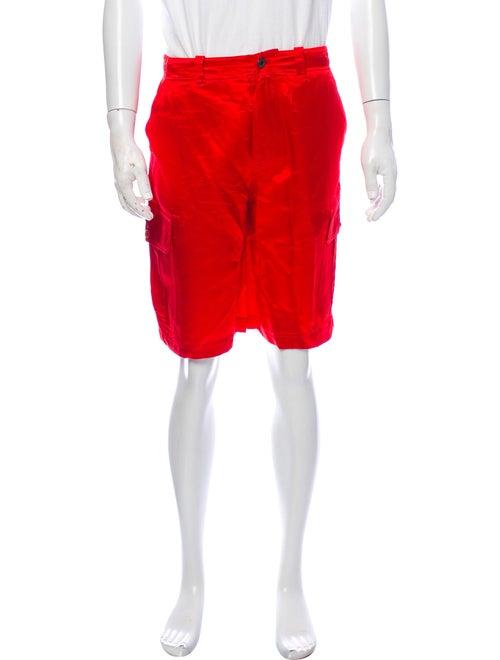 Sies Marjan Cargo Shorts Red