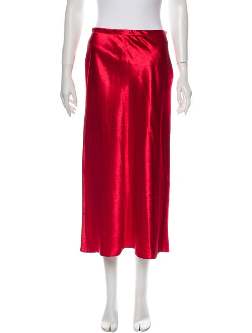 Sies Marjan Midi Length Skirt Red