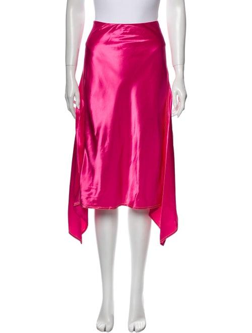 Sies Marjan Darby Midi Length Skirt Pink