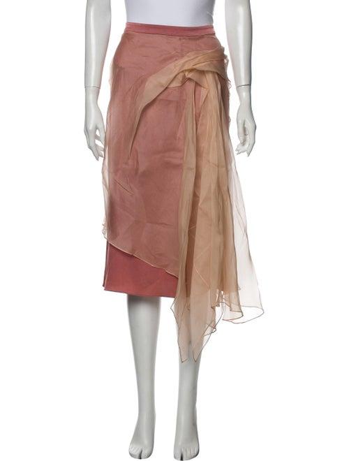 Sies Marjan Ruffle Embellishment Knee-Length Skirt
