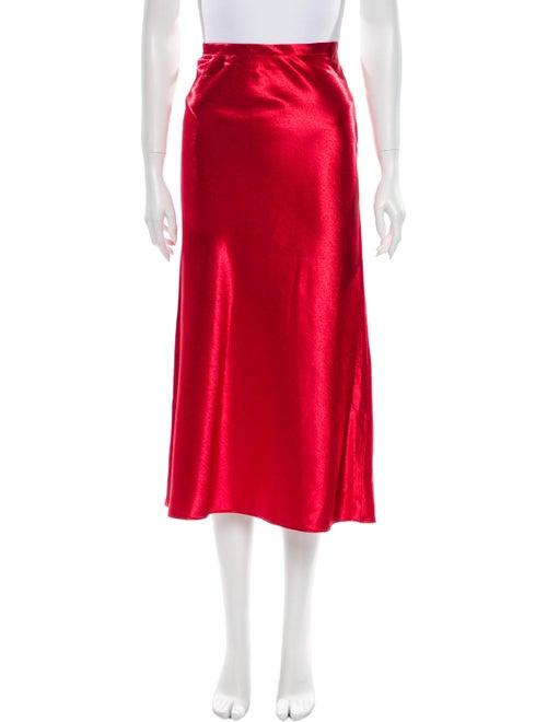 Sies Marjan Midi Length Skirt w/ Tags Red
