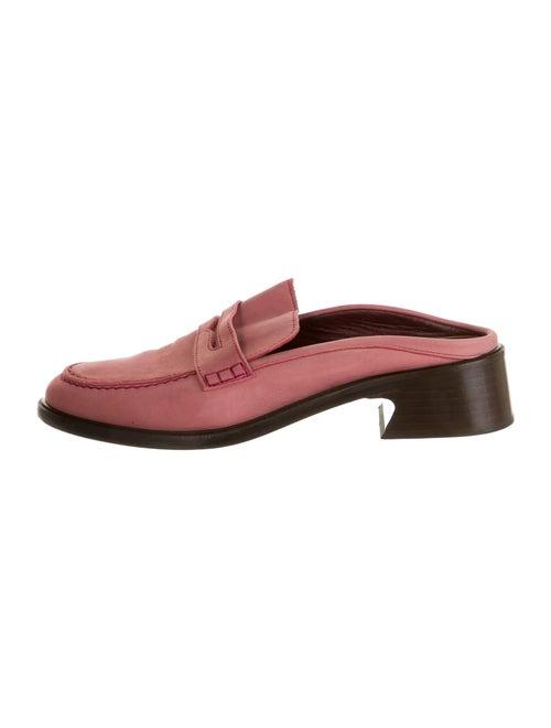 Sies Marjan Leather Mules Pink