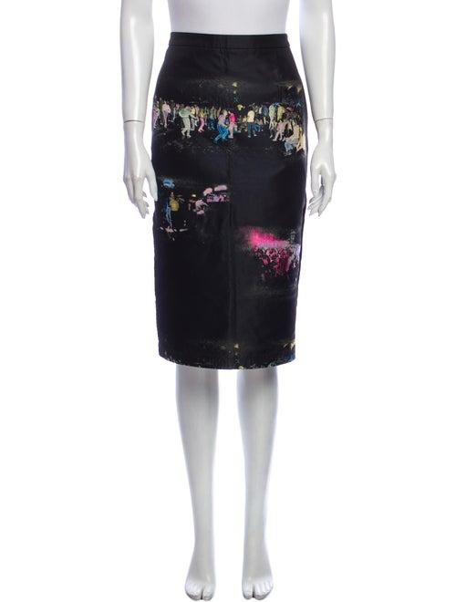 Sies Marjan Silk Knee-Length Skirt