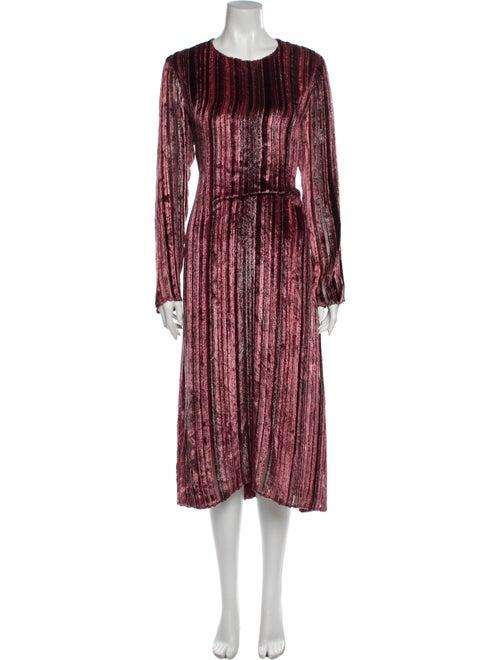Sies Marjan Striped Long Dress