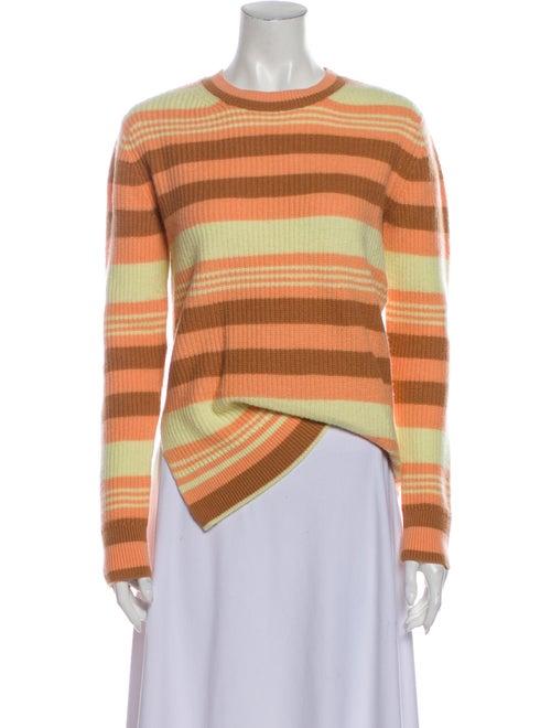 Sies Marjan Merino Wool Striped Sweater Wool
