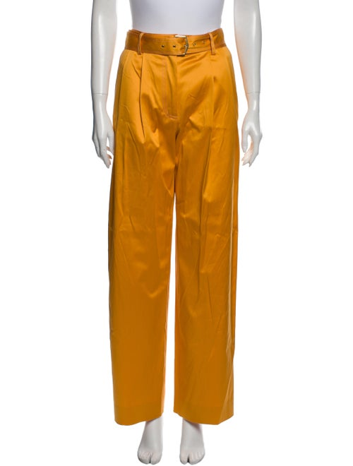 Sies Marjan Wide Leg Pants Orange