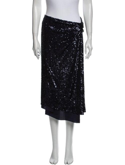 Sies Marjan Midi Length Skirt Blue