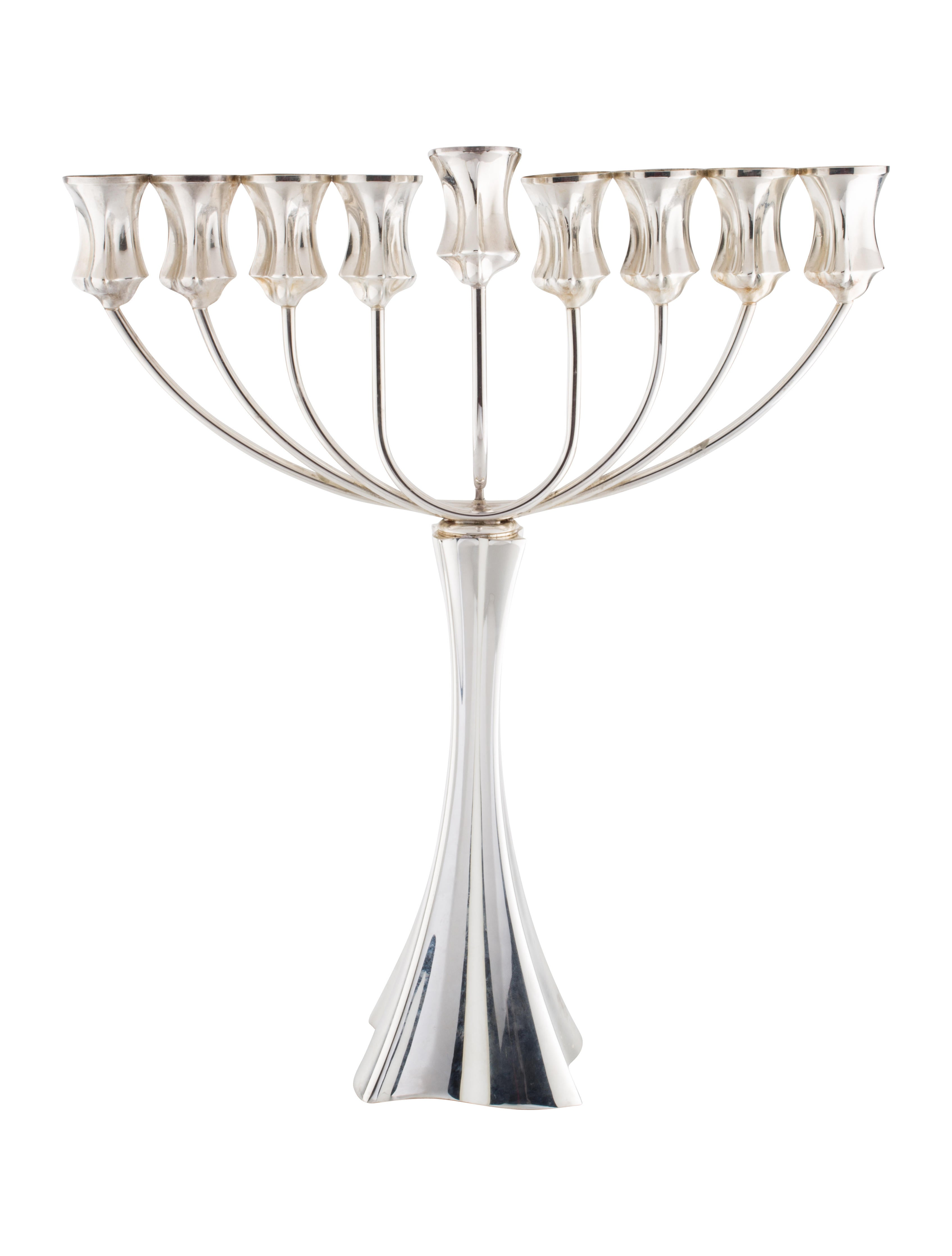 Sterling silver hazorfim candelabra decor and for Artistic accents genuine silver decoration