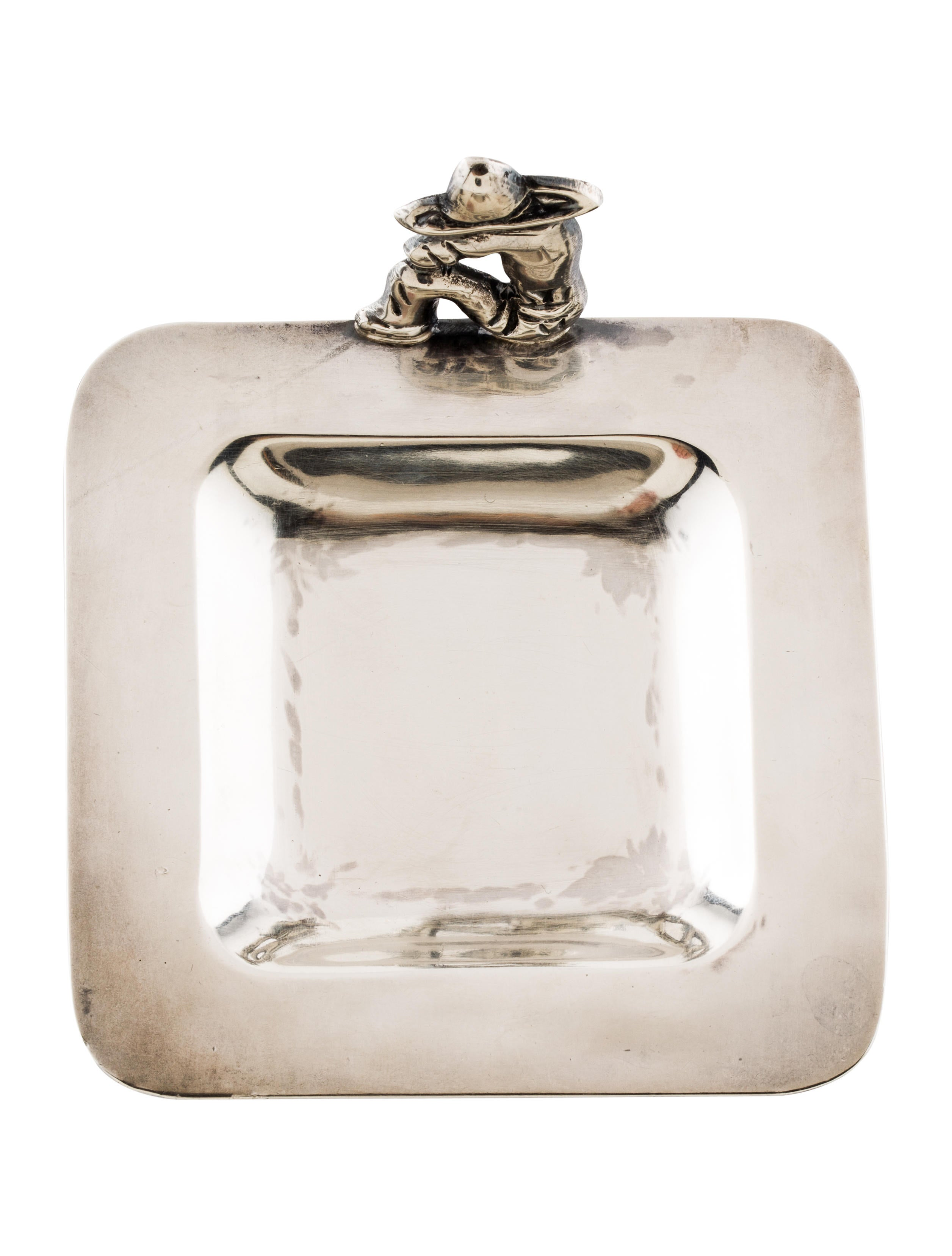 Sanborns sterling silver ash tray decor and accessories for Artistic accents genuine silver decoration