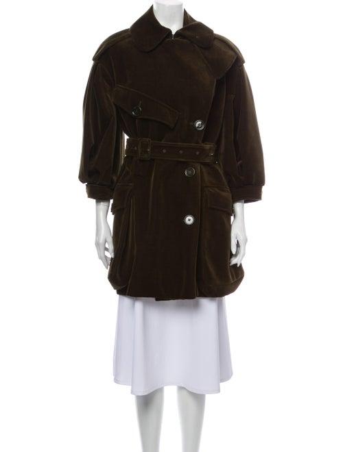 Simone Rocha Trench Coat Green