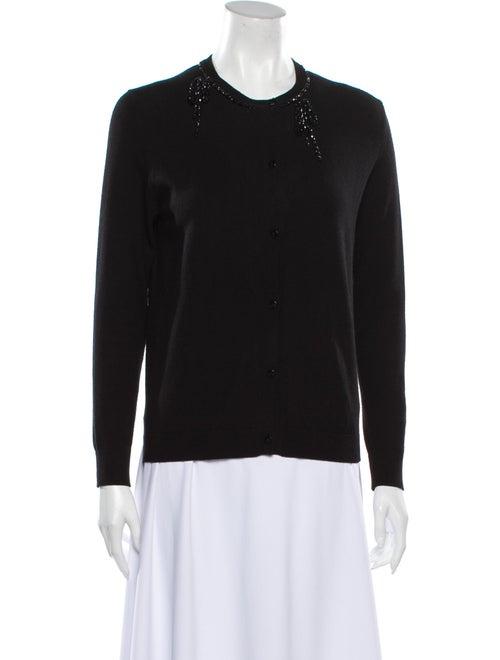 Simone Rocha Crew Neck Sweater Black