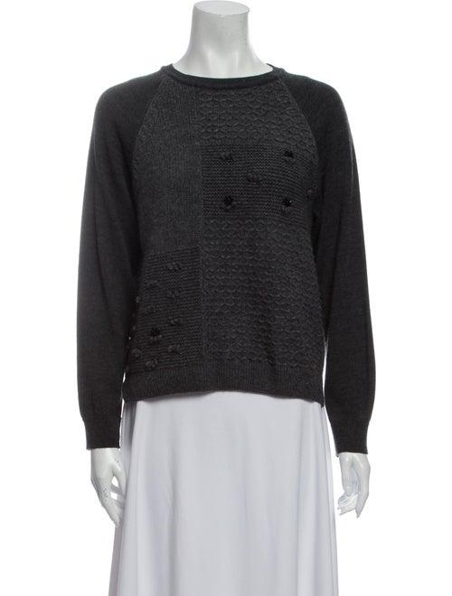 Simone Rocha Merino Wool Crew Neck Sweater Wool