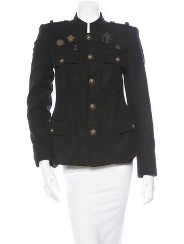 Virgin Wool Field Jacket