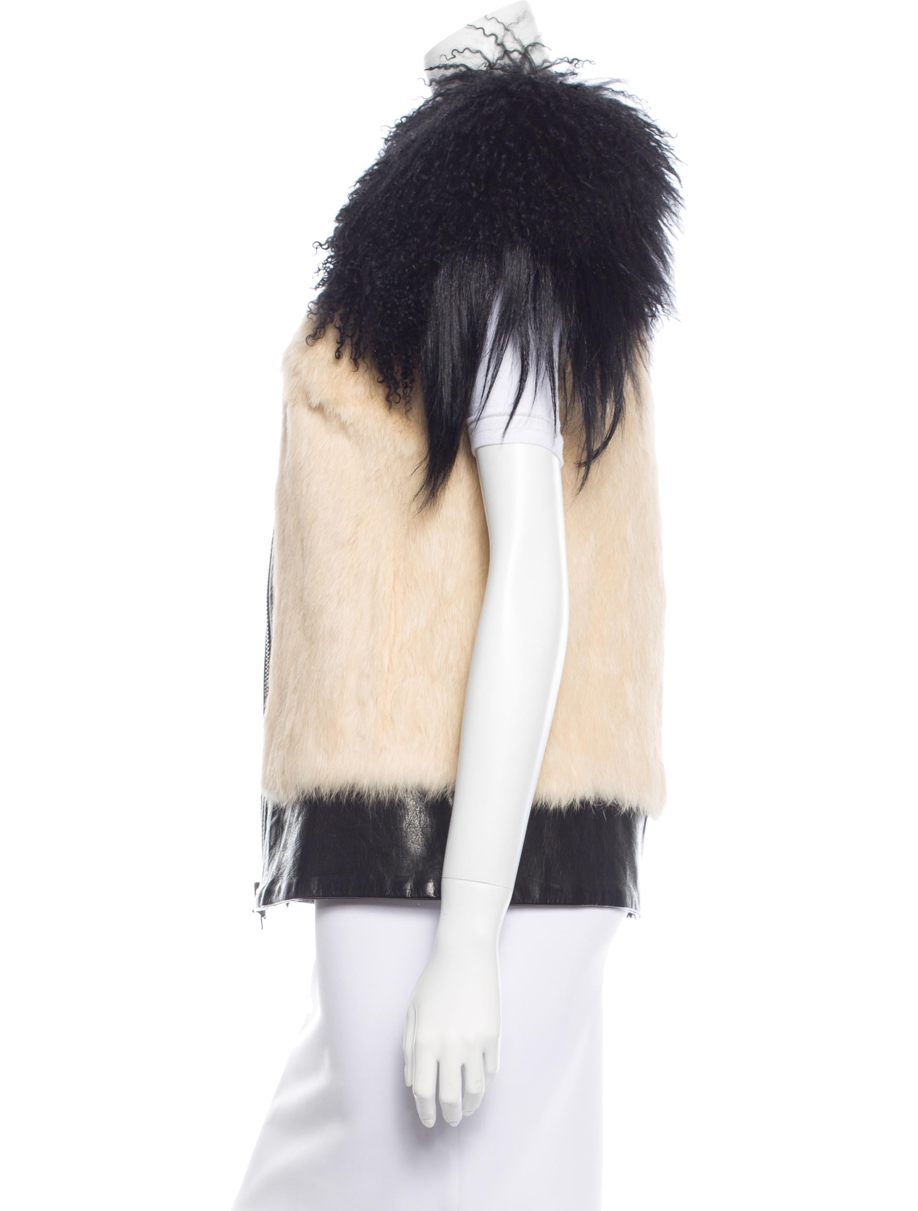 Fur Vest Fox Lynx Chinchilla and Mink Vests NYC We have the best selection of Fur Vests in Fox, mink vests, rabbit vests and many more to choose from.