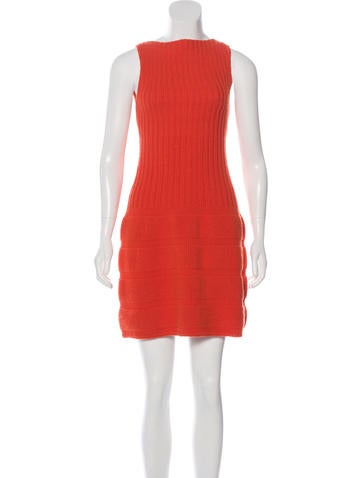 Skaist-Taylor Wool Rib Knit Dress None