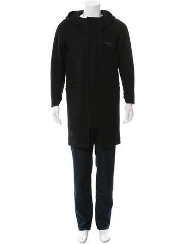 Siki Im Hooded Wool Coat