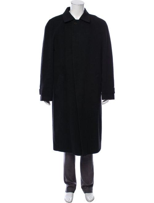 Saks Fifth Avenue Cashmere Overcoat black