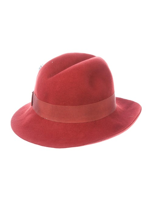 Saks Fifth Avenue Wool Fedora Hat wool