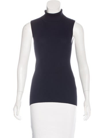 Sally LaPointe 2017 Cashmere Sleeveless Top w/ Tags None