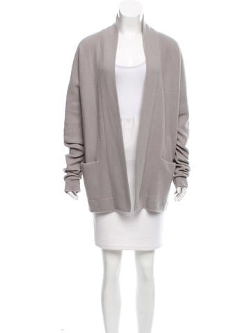 Sally LaPointe Open Wool Cardigan None