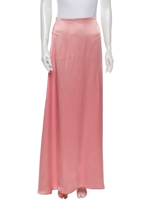 Sally LaPointe Long Skirt w/ Tags Pink