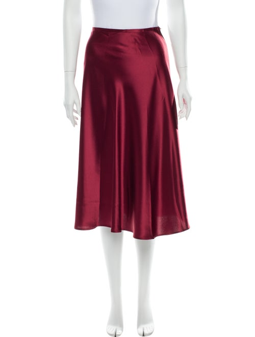 Sally LaPointe Knee-Length Skirt Red