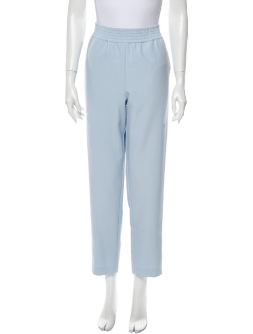 Sally LaPointe Straight Leg Pants Blue